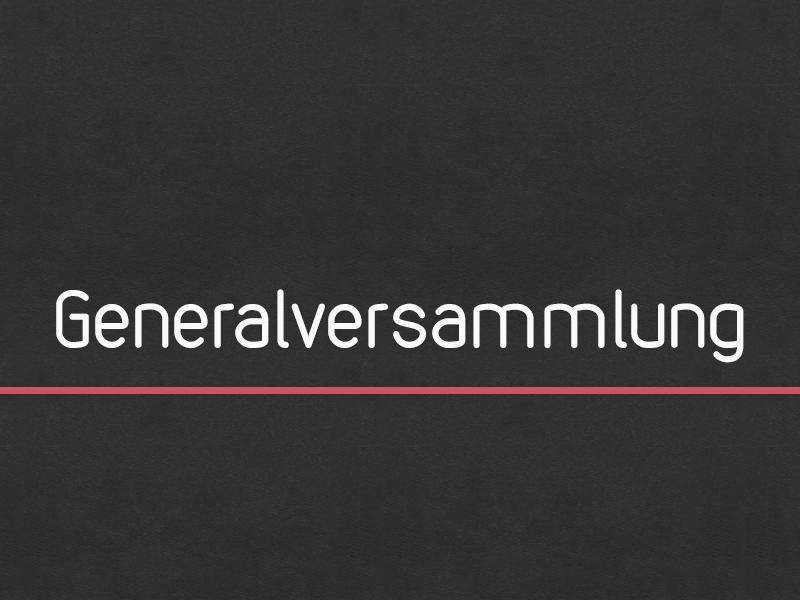 Generalversammlung + NEUWAHLEN des TV 1862 Gerolzhofen
